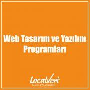Web Tasarım ve Yazılım Programları