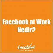 Facebook at Work Nedir?
