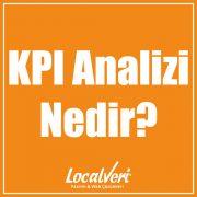 KPI Analizi Nedir?