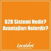 B2B Sistemi Nedir? Avantajları Nelerdir?