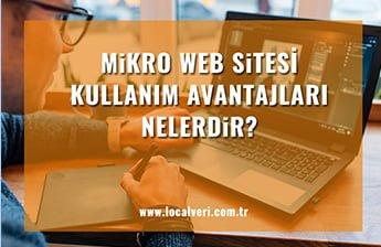 Mikro Web Sitelerinin Avantajları Nedir?