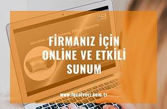 Firmanız İçin Online ve Etkili Sunum