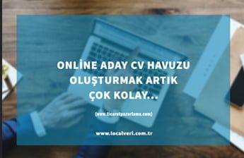 Online Aday CV Havuzu Oluşturmak